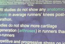 Artrosi e Running, Evidenze Scentifiche